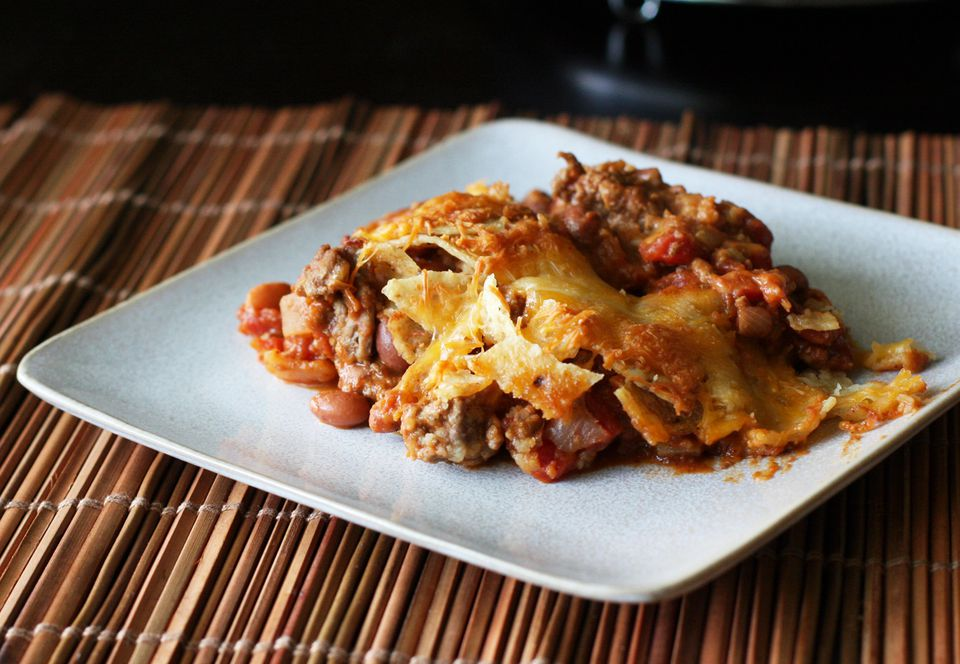 Ground Beef and Tortilla Casserole