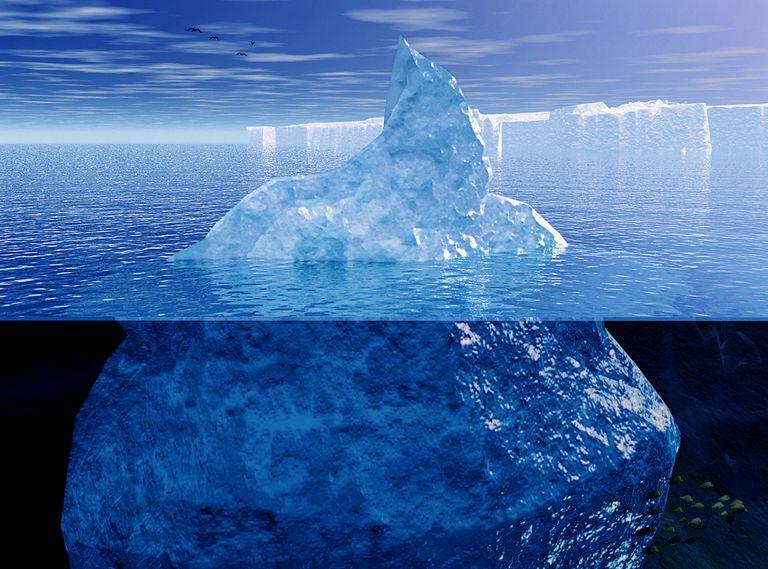 Iceberg representing the id