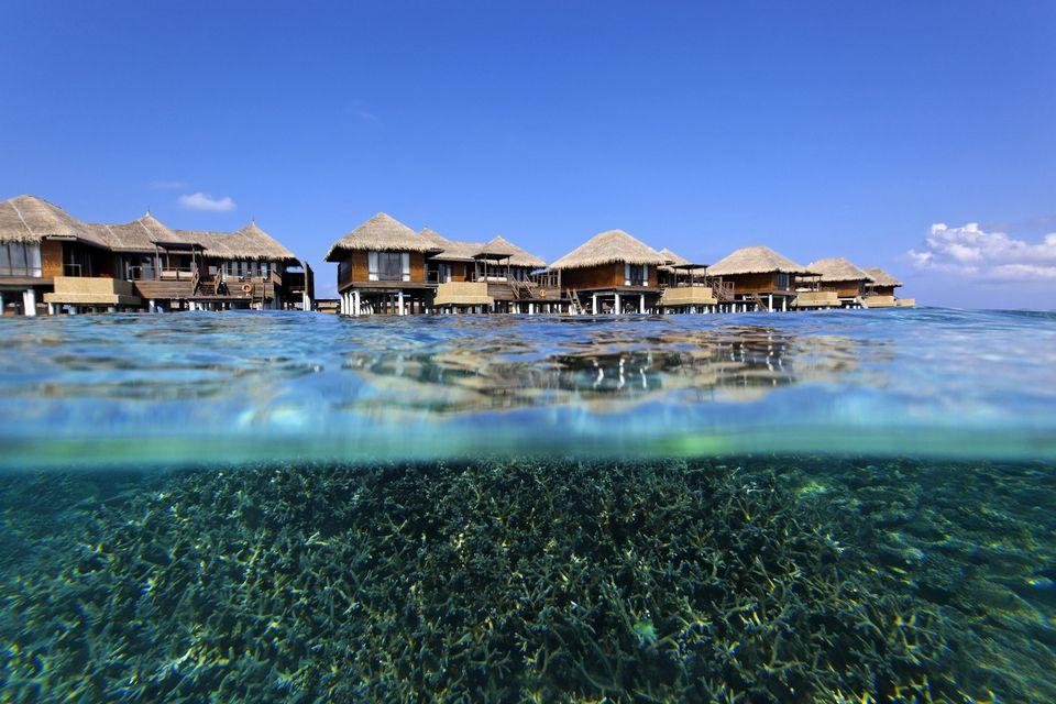 Maldives Kaafu North Male Atoll Hotel Bungalows On Piles