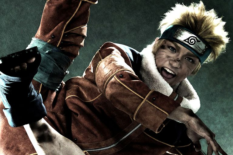 Live action Naruto as seen in the new Naruto Musical.