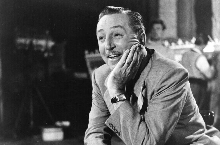 American animator and director Walt Disney, 1952.