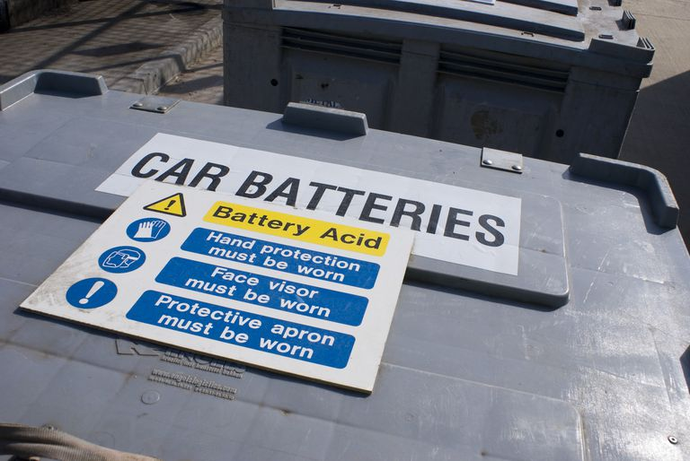 Automotive battery acid is sulfuric acid, which is extremely corrosive. It can produce both chemical burns and thermal burns.