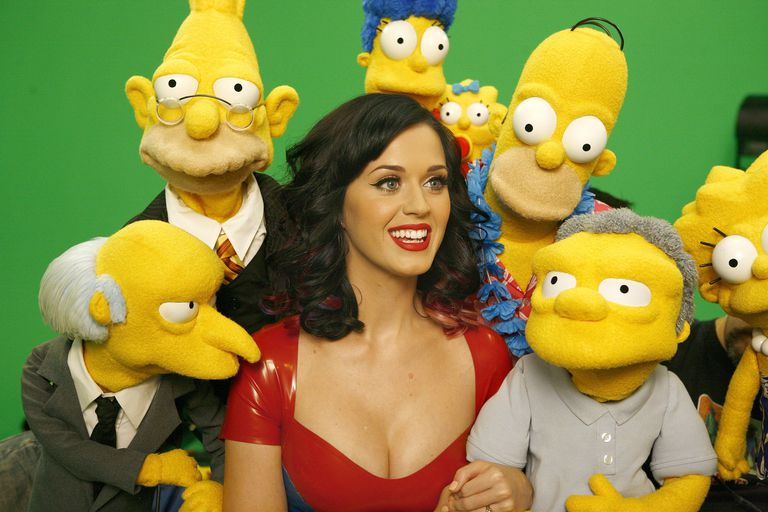 Katy Perry on 'The Simpsons'