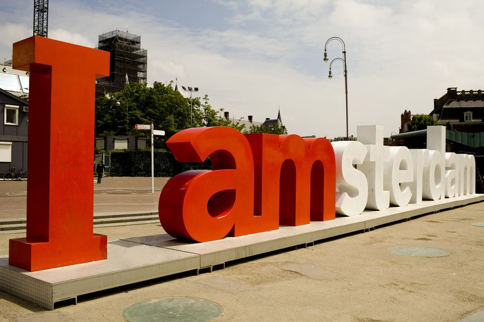 """""""i amsterdam"""" Letters"""