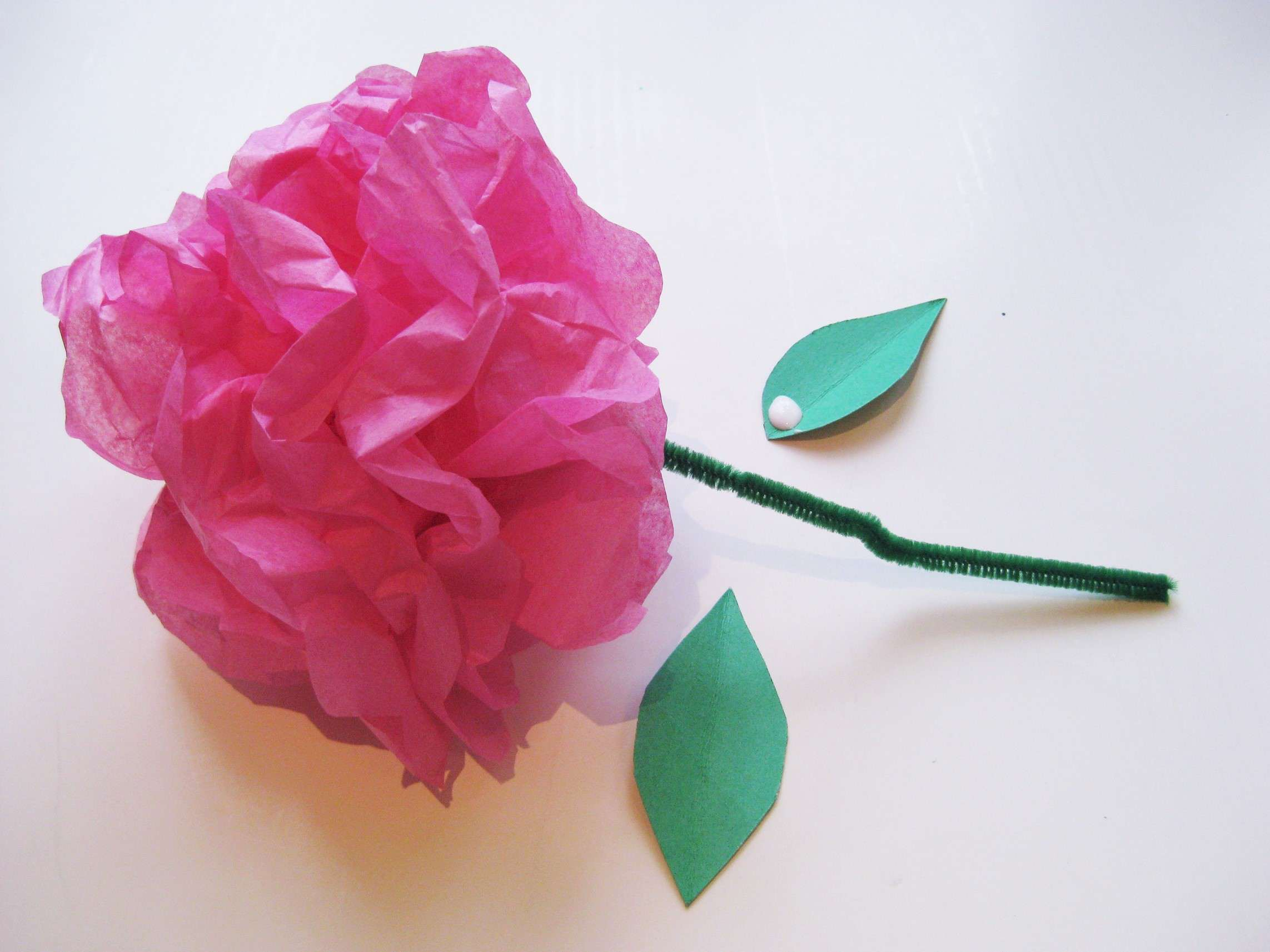 Simple steps to craft tissue paper flowers mightylinksfo