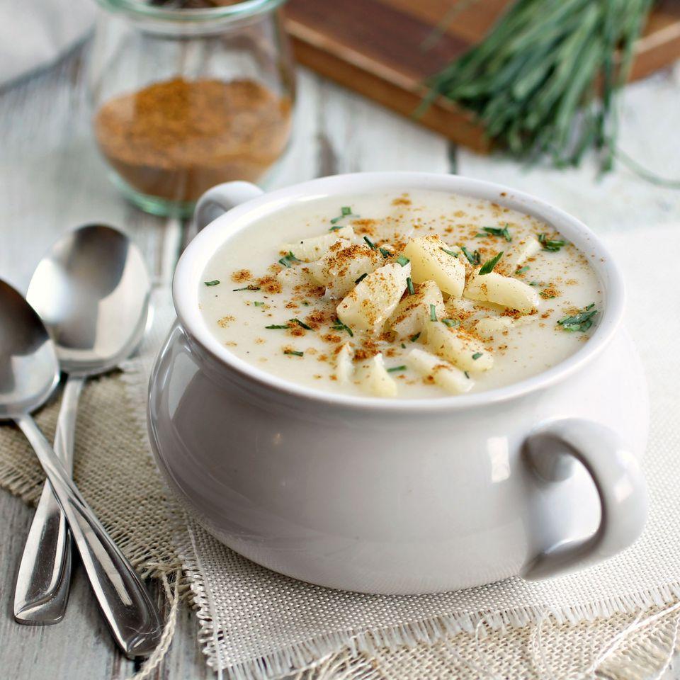 Potato Soup with Ras al Hanout