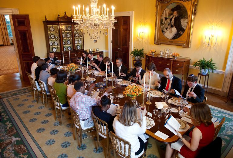 White House Seder in 2012