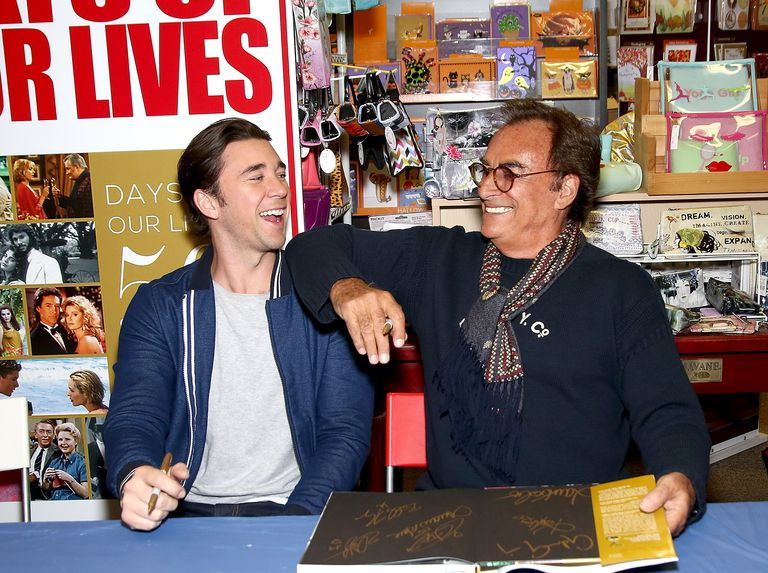 Billy Flynn and Thaao Penghlis