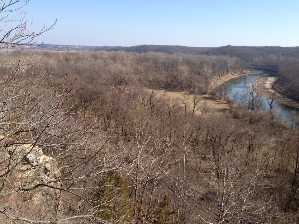View from Castlewood State Park
