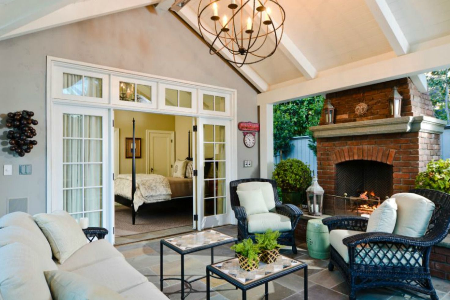 50 outdoor living room design ideas for Outdoor living room ideas
