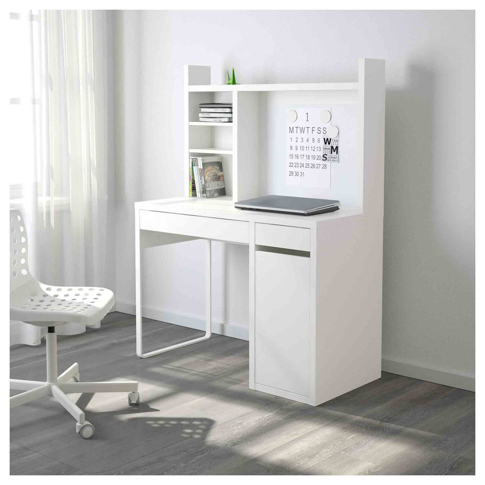 micke long workstation adjustable kids top computer killer ikea desk originality makeup