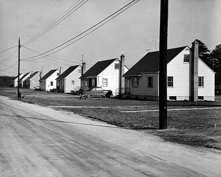 Post-WWII housing development