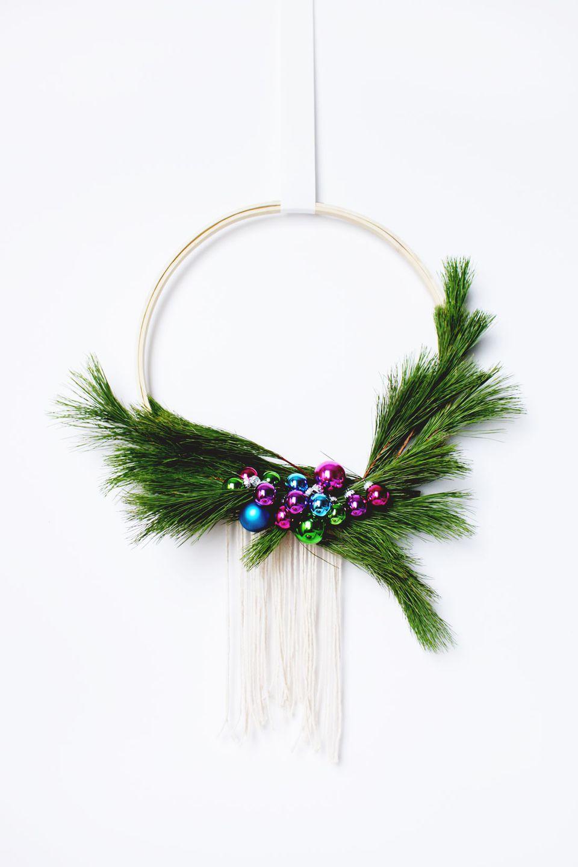DIY Scandinavian Style Wreath