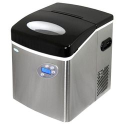 NewAir 50 lb. Freestanding Ice Maker in Stainless Steel