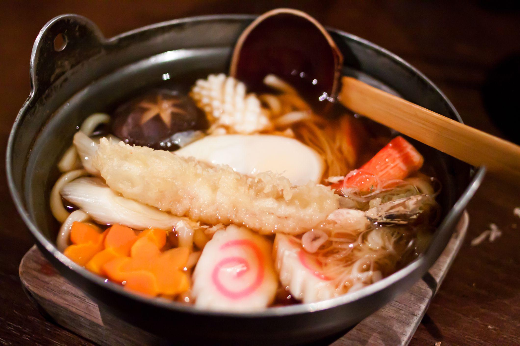 Nabeyaki Udon Noodles Recipe