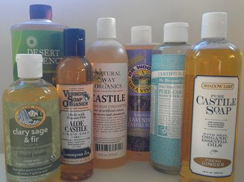 Make Your Own Castile Soap Multi Surface Spray