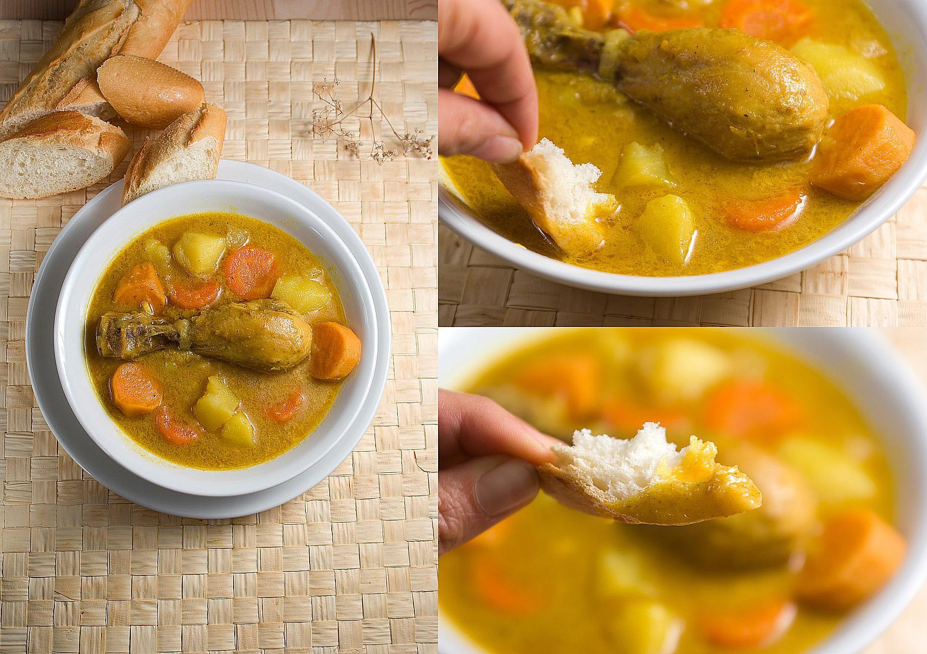 Cà Ri Gà or Vietnamese Chicken Curry