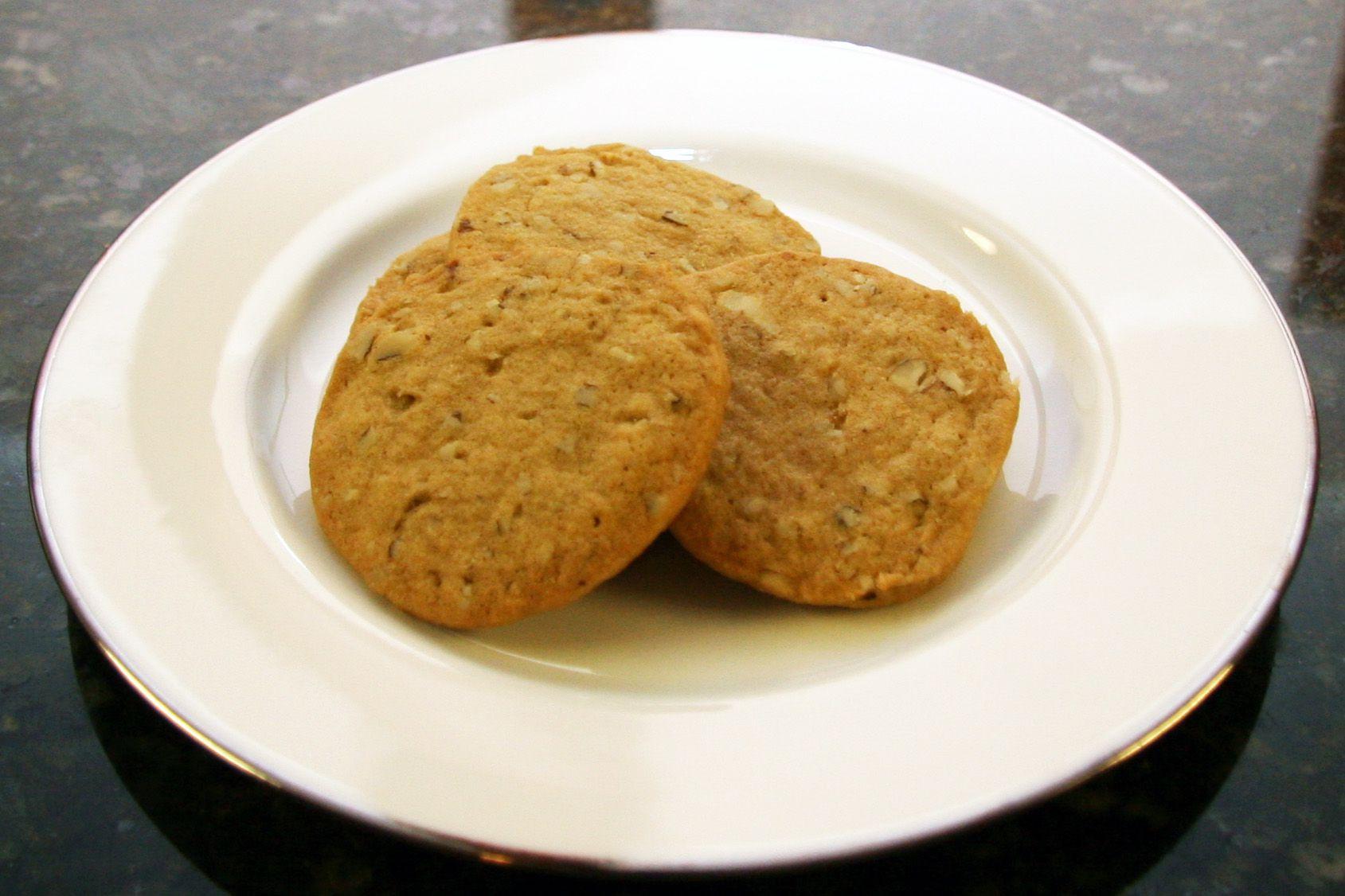 Old Fashioned Walnut Cookies
