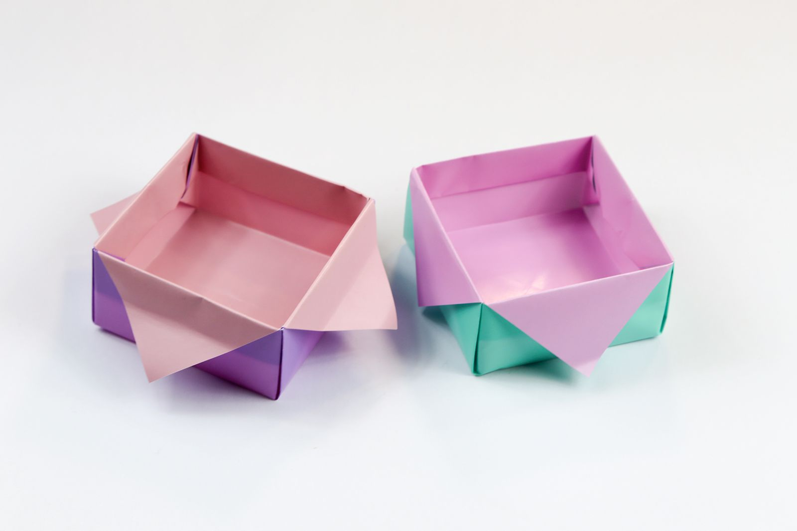 Learn how to fold an origami masu box how to make an origami star masu box jeuxipadfo Choice Image