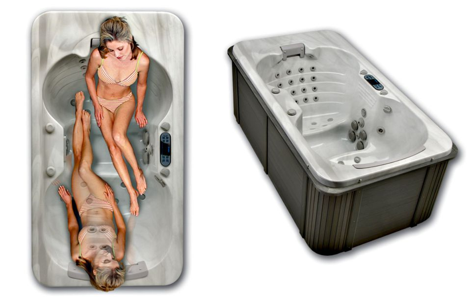 2 person corner hot tub. ThermoSpas Gemini The Best Hot Tubs Designed for Two People