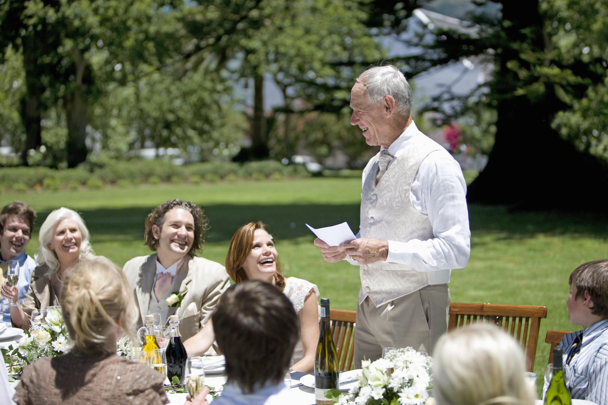 Grooms Speech To Bride Examples: Father Of The Bride Wedding Speeches