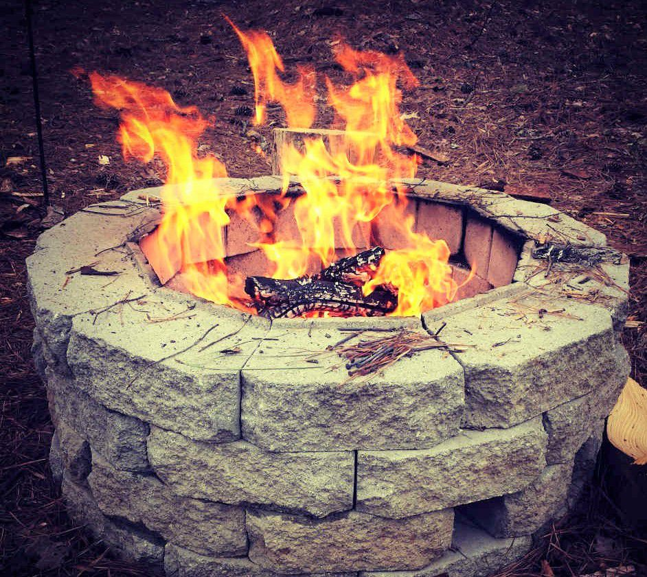 10 diy backyard fire pits