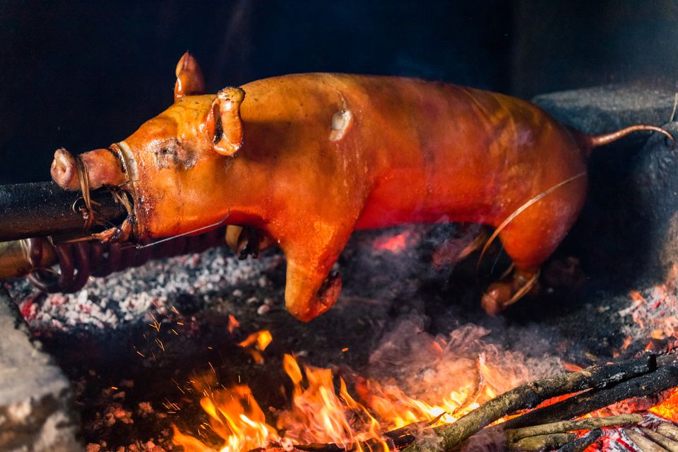 Roast Suckling Pig Cochinillo Asado Recipe