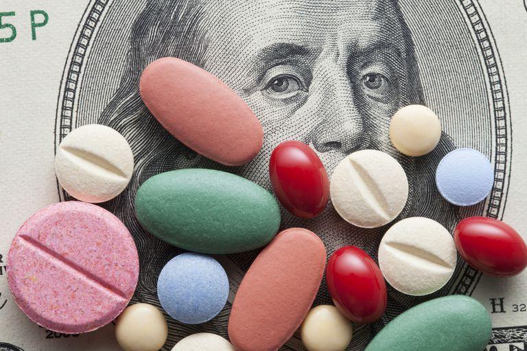 Pills over money