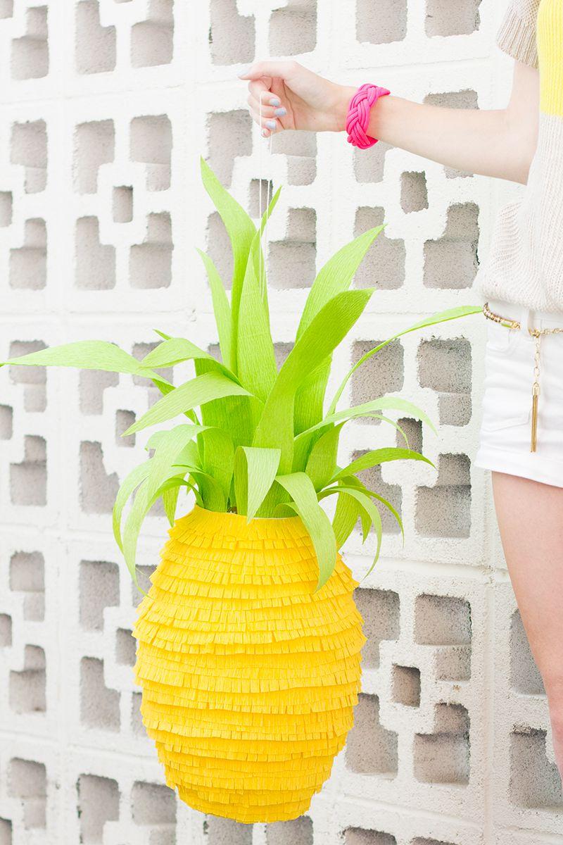 DIY Pineapple Pinata