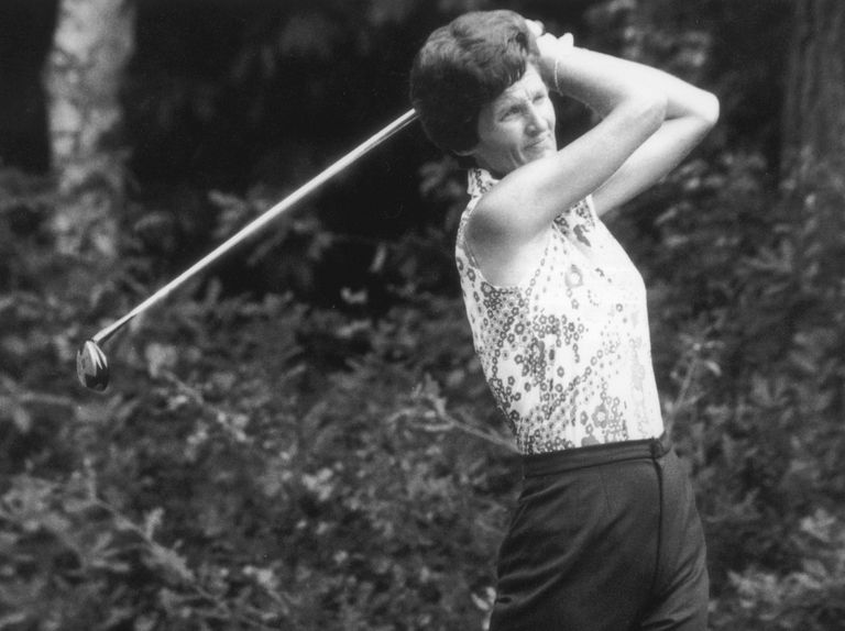 Kathy Whitworth (pictured in 1975) won a record 88 times on the LPGA Tour.