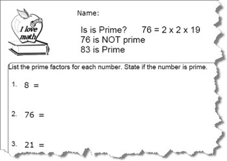 How to Find Prime Numbers in Simple Steps – Prime and Composite Worksheets