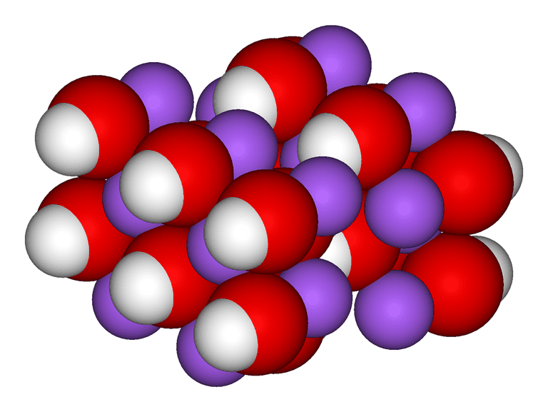 Sodium Hydroxide or Lye