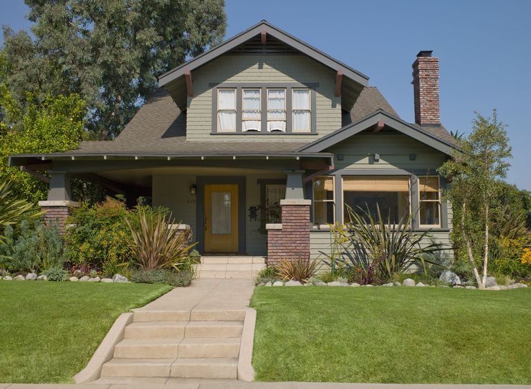 """What gives this craftsman house """"character""""? Steps leading to porch?"""