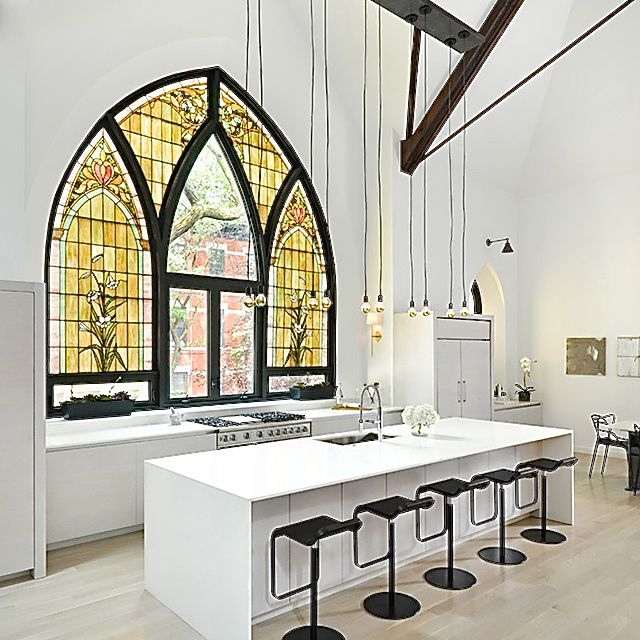 Spotted: Stained Glass Is 2016's Newest Home Decor Trend
