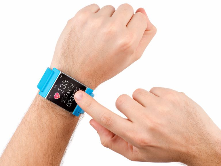 Pulse Monitor Fitness Watch