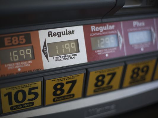 Gas Pump Prices for Fuel