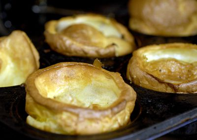 Cook till golden and well-risen