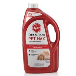 Hoover 64 oz. 2X Deep Clean PET MAX 3-in-1 Carpet Solution