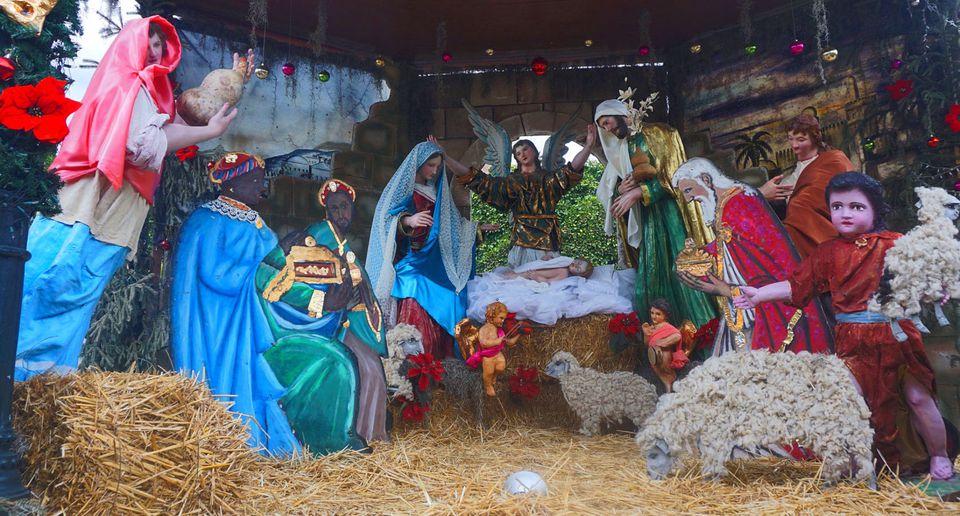 Mexican Nativity Scene