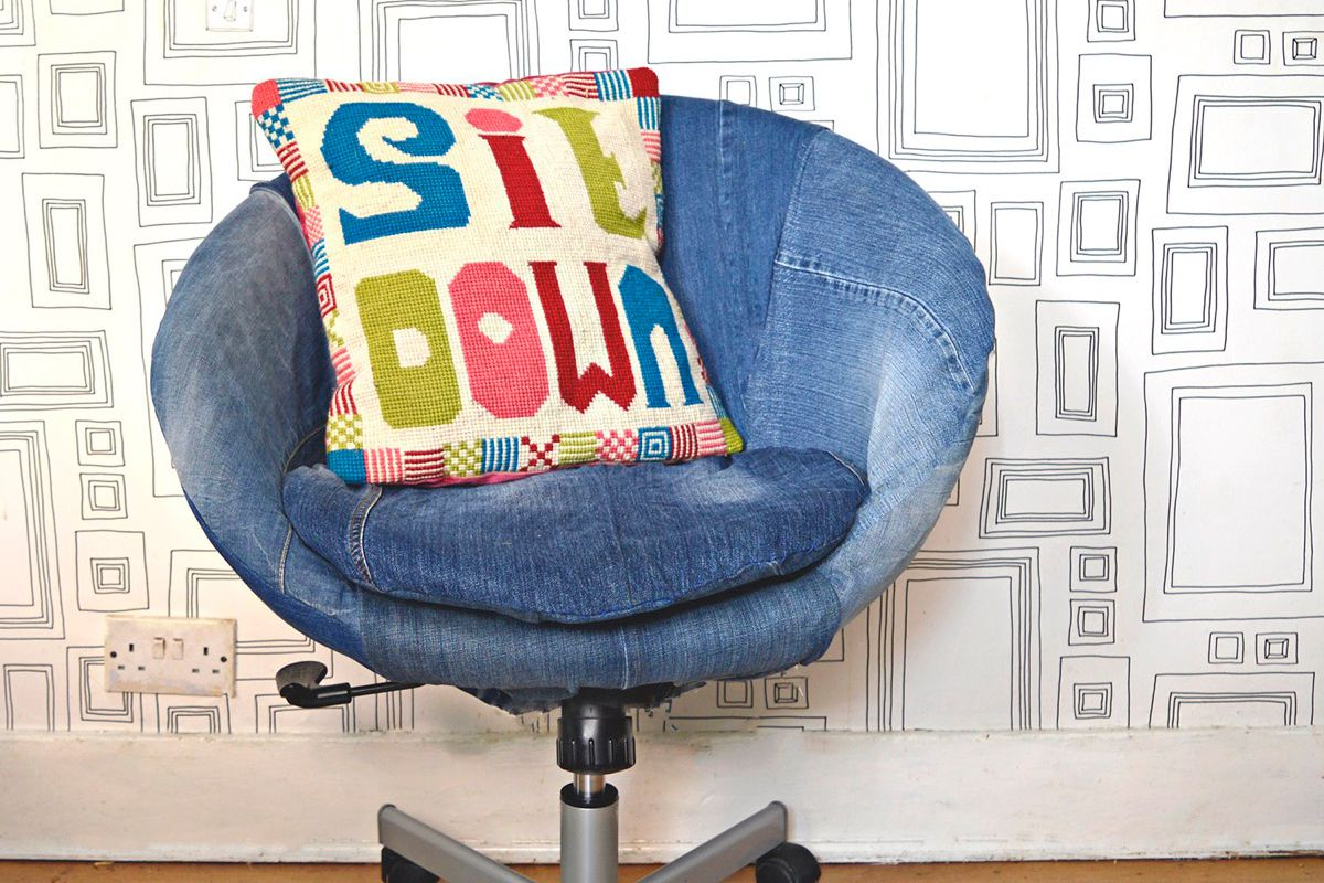 11 Stylish Ways To Repurpose Old Jeans Into Home Decor