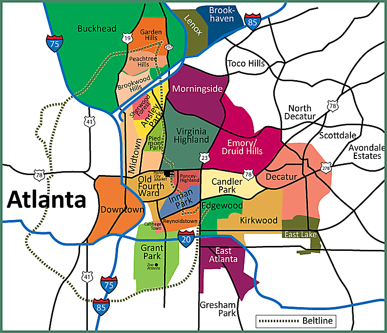 Moving To Atlanta: City Or Suburbs?
