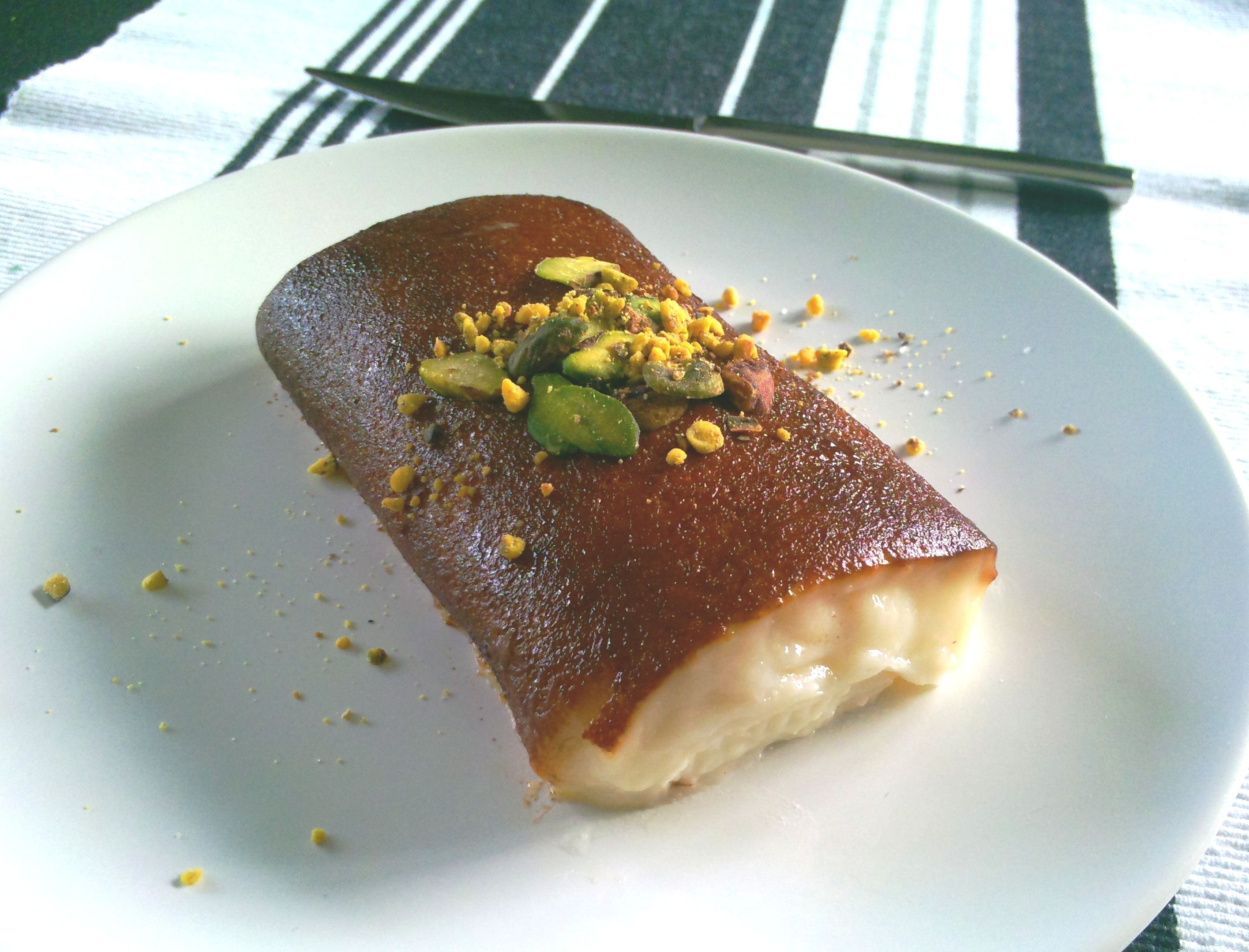 Turkish Kazandibi Dessert Recipe