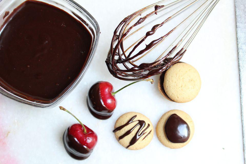 Dairy-Free Chocolate Glaze