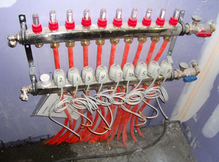 Learn About Radiant Heating Manifolds