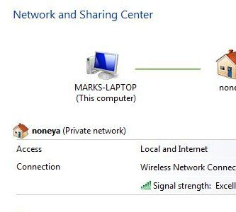 vista network sharing
