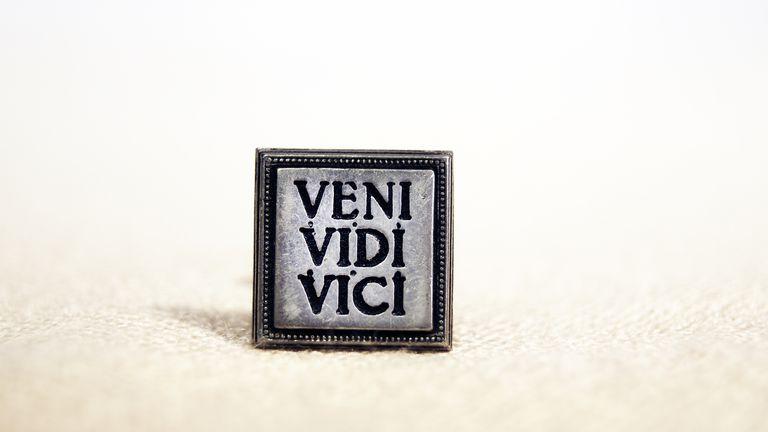 Latin sentence - Veni Vidi Vici