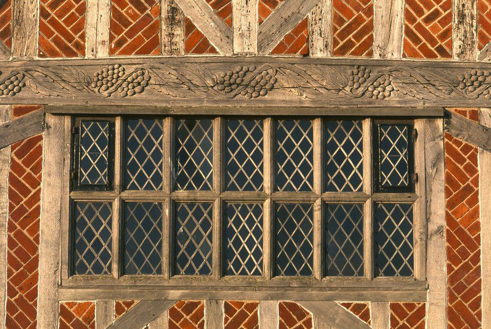 Medieval detail Aldeburgh Suffolk