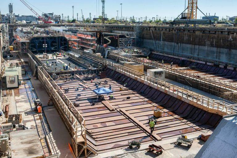 Large projects built under P3