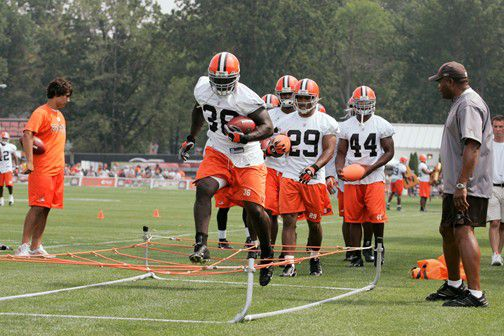 Cleveland Browns Training Camp, Berea Ohio