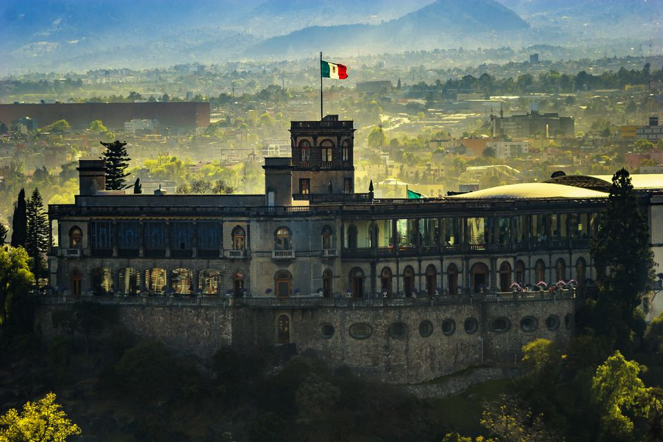 Chapultepec Castle in Mexico City